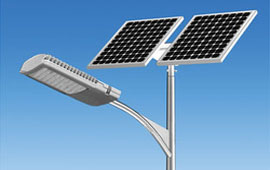 Solar Street Lights Installation